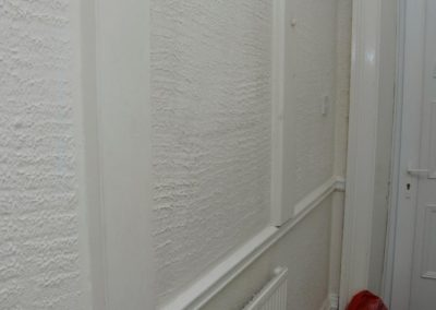Decorative Wall Coating containing Asbestos