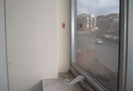 Internal Asbestos Window Panels