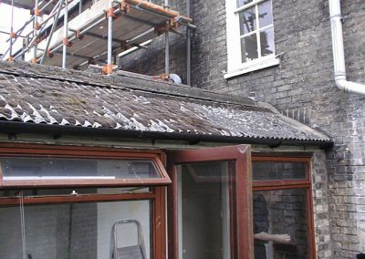 Domestic Asbestos Cement Roof