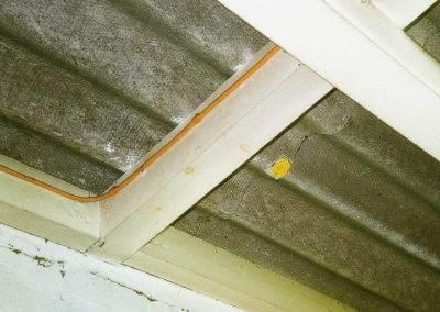 Internal View of Asbestos Cement Roof