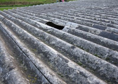 Asbestos Cement Garage Roof Sheets