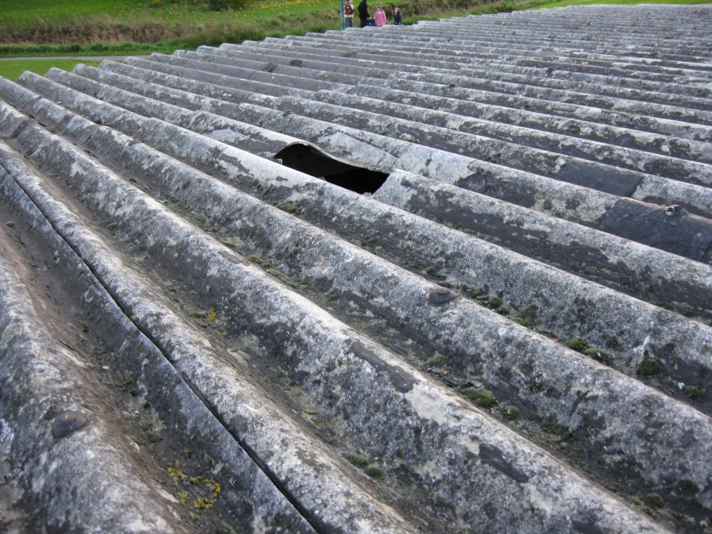 Asbestos In Mortar : Asbestos roof lagging loft insulation