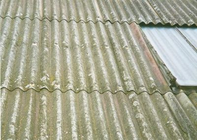 Warehouse Asbestos Cement Roof